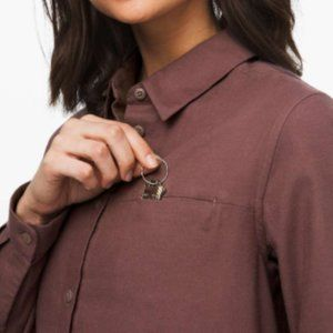 Lululemon Full Day Ahead Flannel Shirt Sz.8